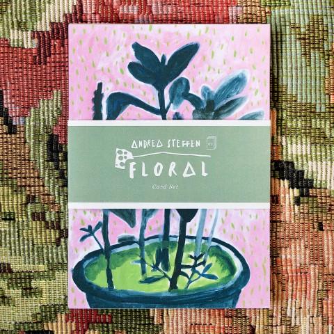 Karten-Set Floral