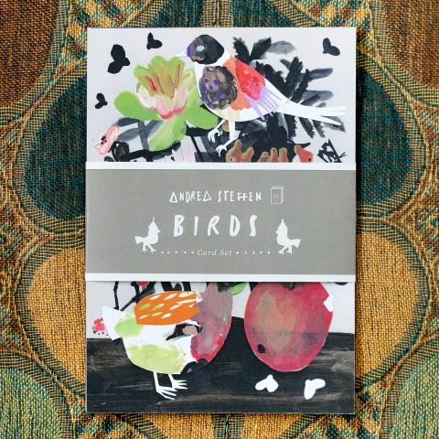 Karten-Set Vögel